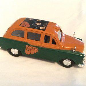 Beatles Rubber Soul London Taxi Model Car Die Cast